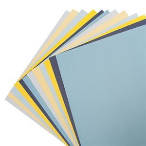 Picture of Blue Skies Solid Color Cardstock