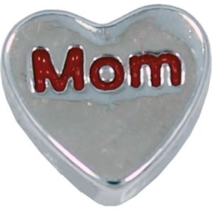Picture of 'Mom' Heart Charm
