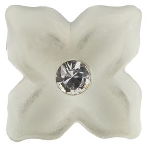 Picture of Mint Pearl Flower Charm