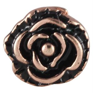 Picture of Rose Gold Vintage Rose Charm