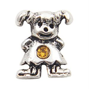 Picture of November Girl Birthstone Charm