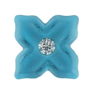 Picture of Sky Blue Flower Charm