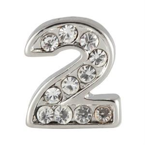 Picture of Silver Number Two Charm