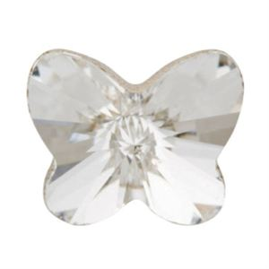 Picture of Clear Crystal Butterfly Charm