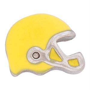 Picture of Yellow Football Helmet Charm