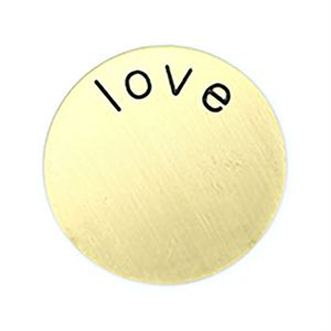 Picture of 'Love' Medium Gold Coin