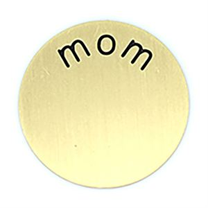 Picture of 'Mom' Medium Gold Coin