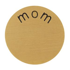 Picture of 'Mom' Large Gold Coin