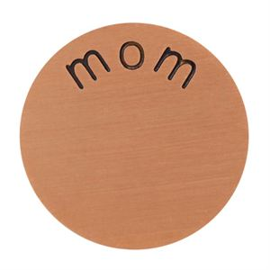 Picture of 'Mom' Large Rose Gold Coin