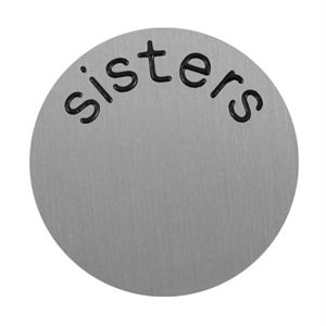 Picture of 'Sisters' Large Silver Coin