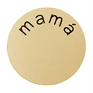Picture of 'Mamá' Large Gold Coin