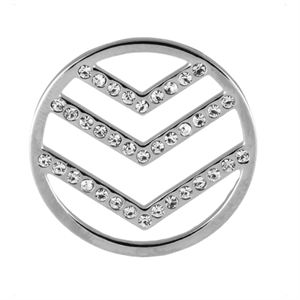 Picture of Large Silver Chevron Screen