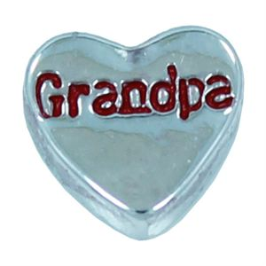 Picture of 'Grandpa' Heart Charm