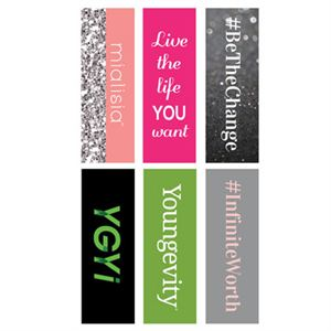 Picture of Logos Rectangle Locket Backdrops