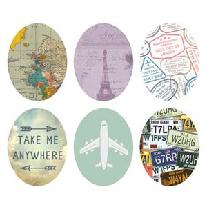 Picture of Travel Oval Locket Backdrops