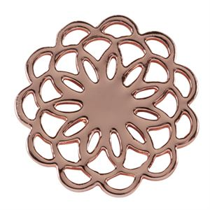 Picture of Large Rose Gold Flower Screen
