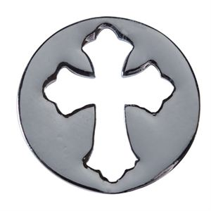 Picture of Medium Silver Cross Screen
