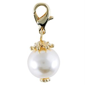 Picture of Champagne Pearl with Gold Droplet