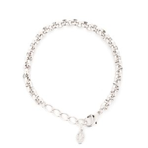 Picture of Nickel-Free Silver Rolo Bracelet