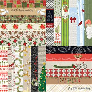 "Picture of Joyful & Triumphant by Lauren Hinds 2"" Border Strips: Joyful - Set 12"