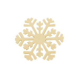 Picture of Medium Gold Snowflake Screen