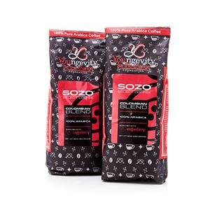 Picture of 2-Pack Colombian Ground Enriched with Coffee Berry
